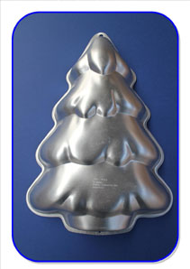 Christmas Tree Cake Tin